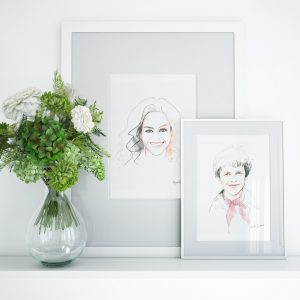 Frame mockup by kalika yap's Little Brand Book of Michelle and Amelia