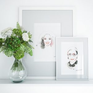 kalika yap's Little Brand Book Oprah and Ruth Frame mockup