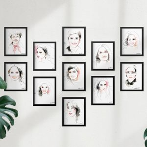 kalika yap's Little Brand Book Frame mockup artwork