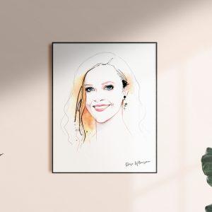 Frame Reese artwork for kalika yap's Little Brand Book