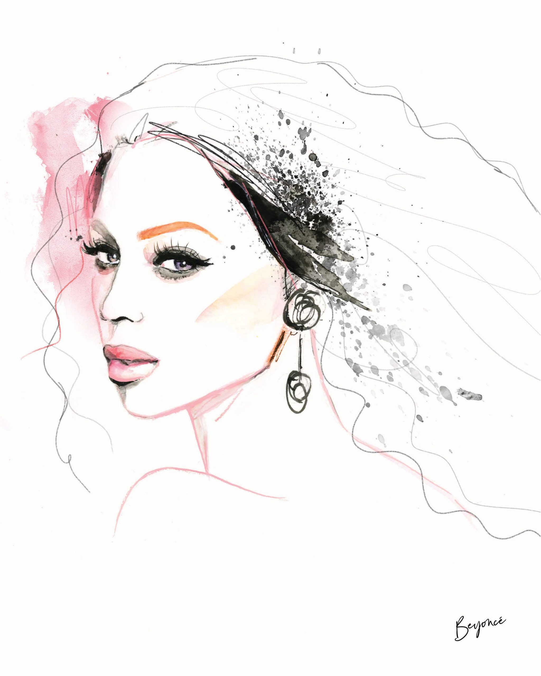 kalika yap's Little Brand Book Artwork for Beyonce