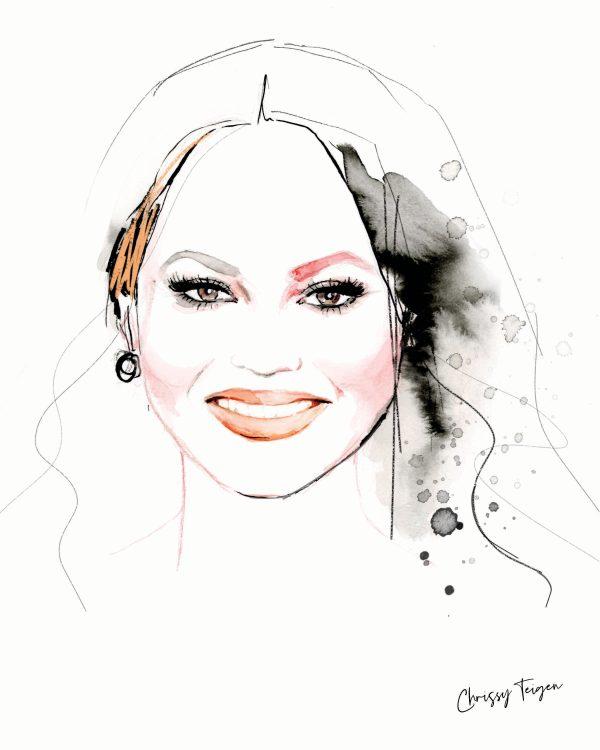 kalika yap's Little Brand Book Illustration Artwork for Chrissy