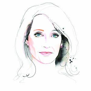 Artwork for Kalika Yap's Little Brand Book J.K Rowling