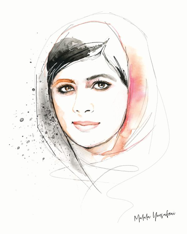 Malala - kalika yap's Little Brand Book Artwork