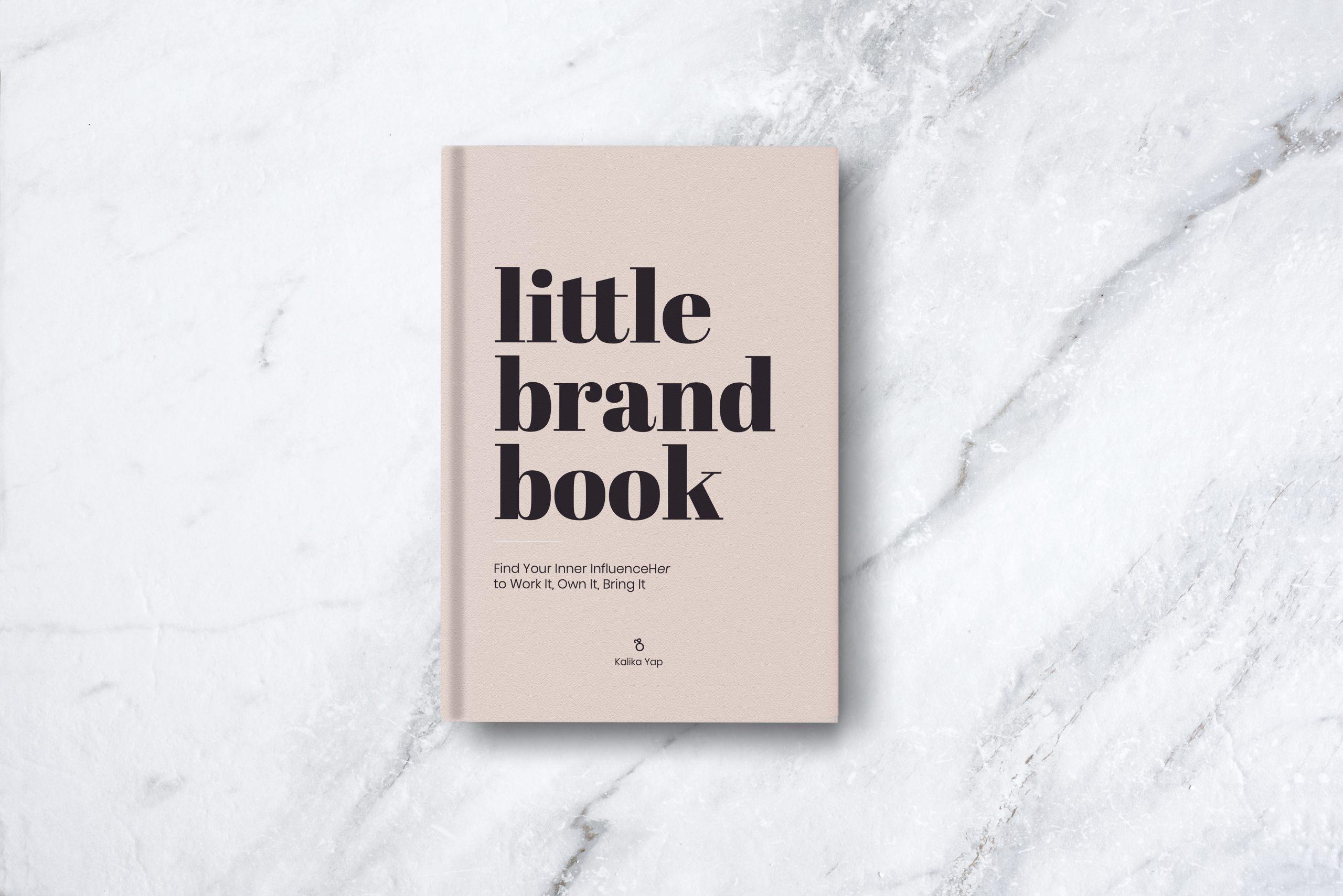 Kalika Yap's Little brand book actual image on table